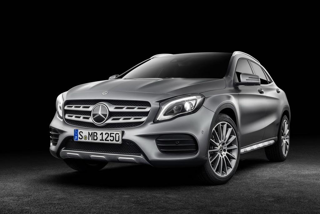 Каско на Mercedes GLA