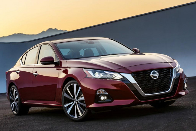 Каско на Nissan Teana
